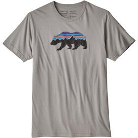 Patagonia Fitz Roy Bear Organic Camiseta manga corta Hombre, feather grey